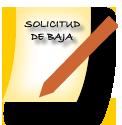 Solicitud Baja